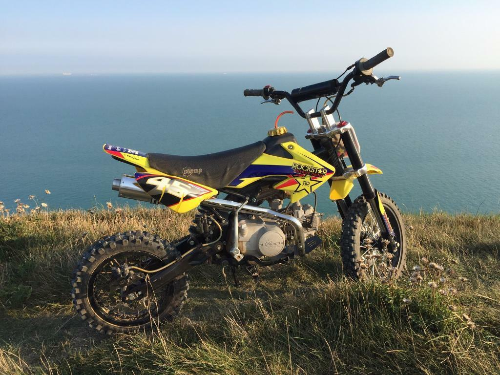 2015 stomp 125cc £450 Ono (IN WAY)