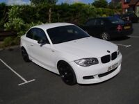 BMW 120D M-SPORT COUPE - FULLY LOADED - 6K OF EXTRAS - ALPINE WHITE