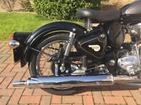 2016 Royal Enfield Classic 500 (2600 miles)' remainder of warranty to May 18