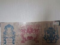 Three peice split canvas brand new still in seal
