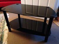 Glass TV Stand: