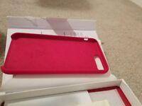 Brand new iPhone 8 Plus Case, iPhone 7 Plus Case Liquid Silicone Phone Case Free Screen Protector
