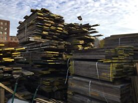 Used scaffold boards 80p per foot