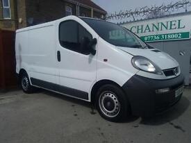 Vauxhall Vivaro 1.9 CDTI 2700 Panel Van 4dr (SWB)£2,495 p/x welcome NEW MOT. GOOD RUNNER