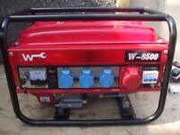 PORTABLE 3kw 3 PHASE AND SINGLE PHASE 4 STROKE PETROL GENERAYTOR