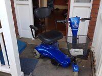 Invacare Electra three wheel scooter