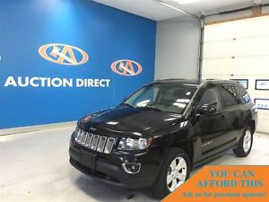 2015 Jeep Compass SPORT,LEATHER, SUNROOF! 4X4, FINANCE NOW!!