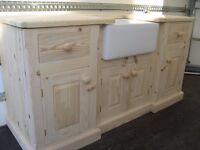 Solid Pine Buttler sink unit