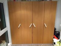 IKEA pax wardrobe in very good condition. Purchased in July 2016