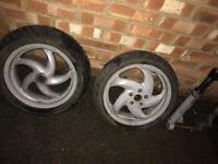 Gilera runner 125 sp original wheels