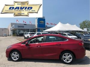 2017 Chevrolet Cruze LT/ SUNROOF/ REMOTE STR/ REAR CAM/ HEAT SEA