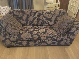 Lovely brown and gold sofas