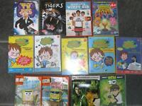 Kids selection of DVDs - Ben 10 Horrid Henry, Wimpy Kid, Moshi Monsters etc