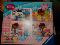 Disney Princess and Doc McStuffins puzzles for sale (age 3+) 8 in total