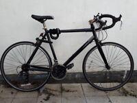 black road bike (21 gear) in Hackney