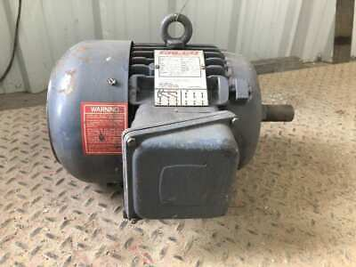 Calco 3af10418tk 3hp Electric Motor 1750rpm 208-230460v 3ph Tefc