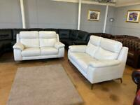 Real leather brand new sofas for sale