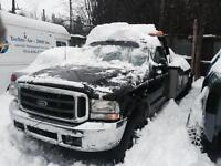 Ford F550 tow truck wrecker