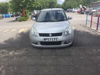 2007 Suzuki Swift 1.5 GLX 5dr Hatchback 12 MONTHS MOT AND SERVICE HISTORY