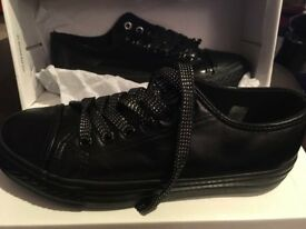 Black trainers size 3 new in box