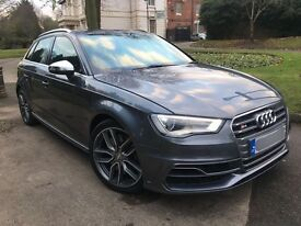 AUDI S3 2.0 TFSI SPORTBACK QUATTRO 5DR 2014/64 ** CHEAPEST IN THE COUNTRY **