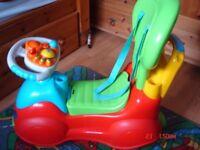 Children's car toy