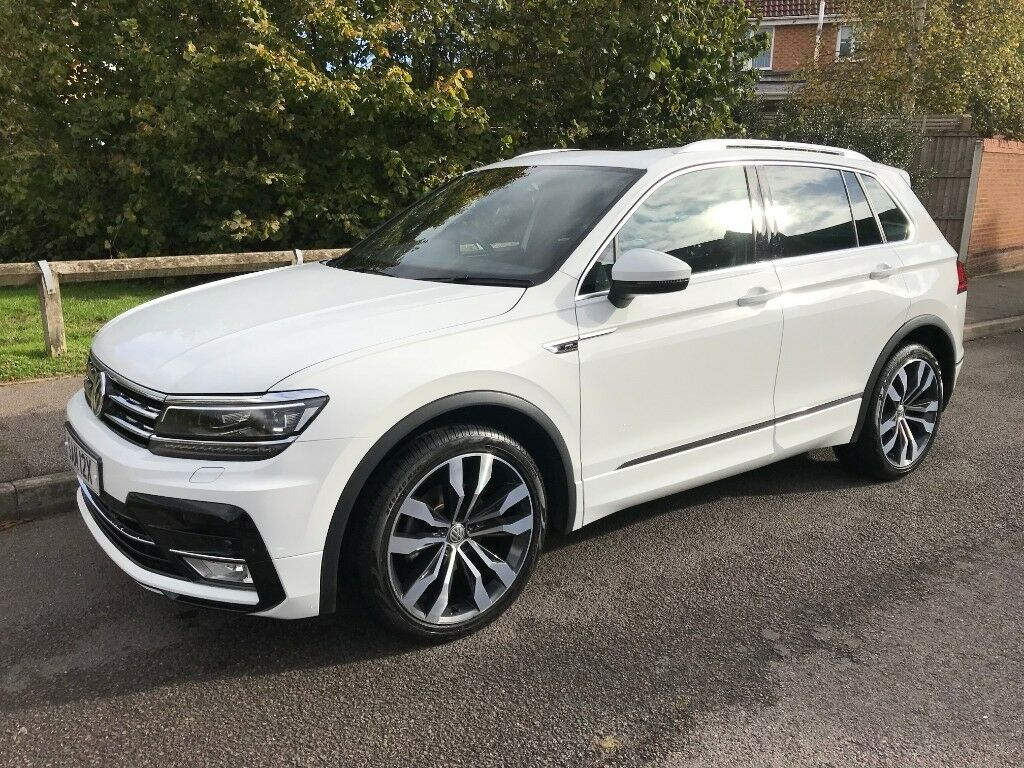 vw tiguan r line 2017 in sutton in ashfield. Black Bedroom Furniture Sets. Home Design Ideas