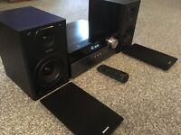 Sony CMT-MX550i Audio Shelf System DAB