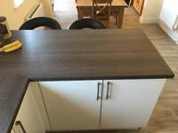 Duropal kitchen work surface still sealed 60 x 117cm