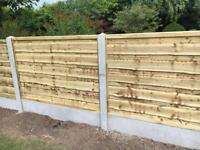 🌈 Heavy Duty Tanalised Wooden Garden Fence Panels ~ Various Sizes & Styles