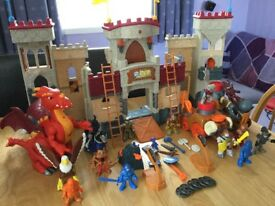 Imaginext Interactive Castle with many extras