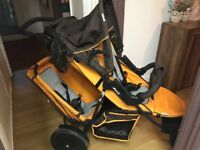 Double buggy great condition