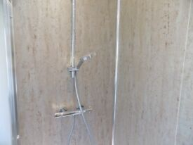 Mermaid wet wall panels and kit