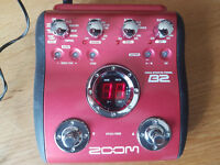 Zoom B2 Bass Effects Pedal - Excellent Condition