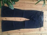 Boden Dark Bootscut Lady's Jeans UK 12R - tried once