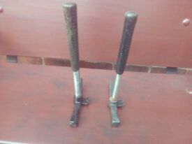 roofing hammers x 2 steel shaft