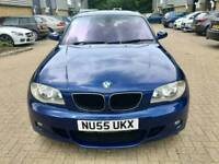 BMW 1SERIES 116i M SPORTS 1.6 PETROL MANUAL 2005