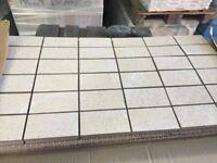 Antislip mosaic tiles