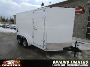 "2016 Stealth Trailers 7 X 12 + 30"" V NOSE / DOUBLE REAR DOORS /"