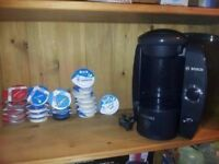 Bosch tassimo with pods in working order