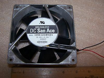 For SANYO Brushless DC San Ace 9SG1212P1G01 120mm 12V 4A Metal Fan
