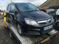 2006 VAUXHALL ZAFIRA ACTIVE 16V (MANUAL PETROL)