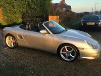porsche boxster 3.2s 986 facelift model,with full porsche history! superb!