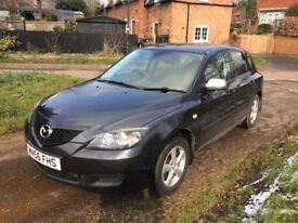 MAZDA 3 1.6 cc TSD SUPERB ORIGINAL CONDITION..LOW MILES NEW MOT..FULLY LOADED 2007 MODEL !
