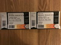 Nathan Rateliff & Nightsweats 2 TICKETS Liverpool MON 16th Apr