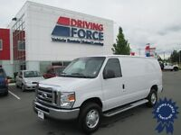 This 2013 Ford E-250 has only 14,000 KMs - 4.6L V8 Engine