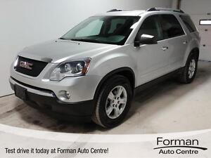 2012 GMC Acadia SLE - New Tires   Remote Start   Clean!