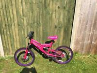 Girls bike as new unwanted gift
