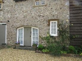 Lovely fully furnished one bedroom cottage in quiet village location.