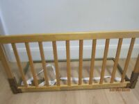 Used BabyDan Wooden Bed Guard - Good Condition